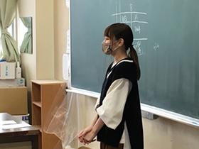 本校卒業生を招いて進路報告会<高2Ⅱ類・Sコース>
