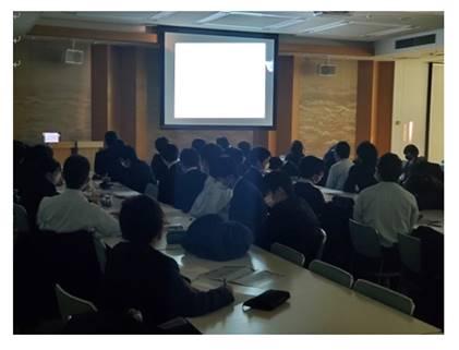 高校1年「大学の講義に触れる」早稲田大学模擬講義を実施